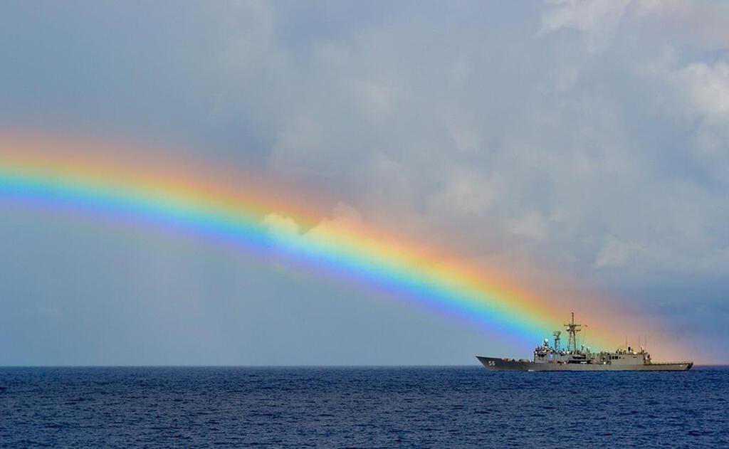 石垣島では雨上がりの虹に出会える可能性大