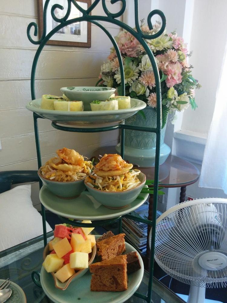 「セラドン焼き」で優雅なカフェタイムを!Raming Tea House(ラミンティーハウス)