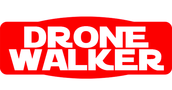 DRONE-WALKER(ドローン-ウォーカー)ロゴ